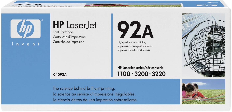 Toner HP 92A C4092A, černá