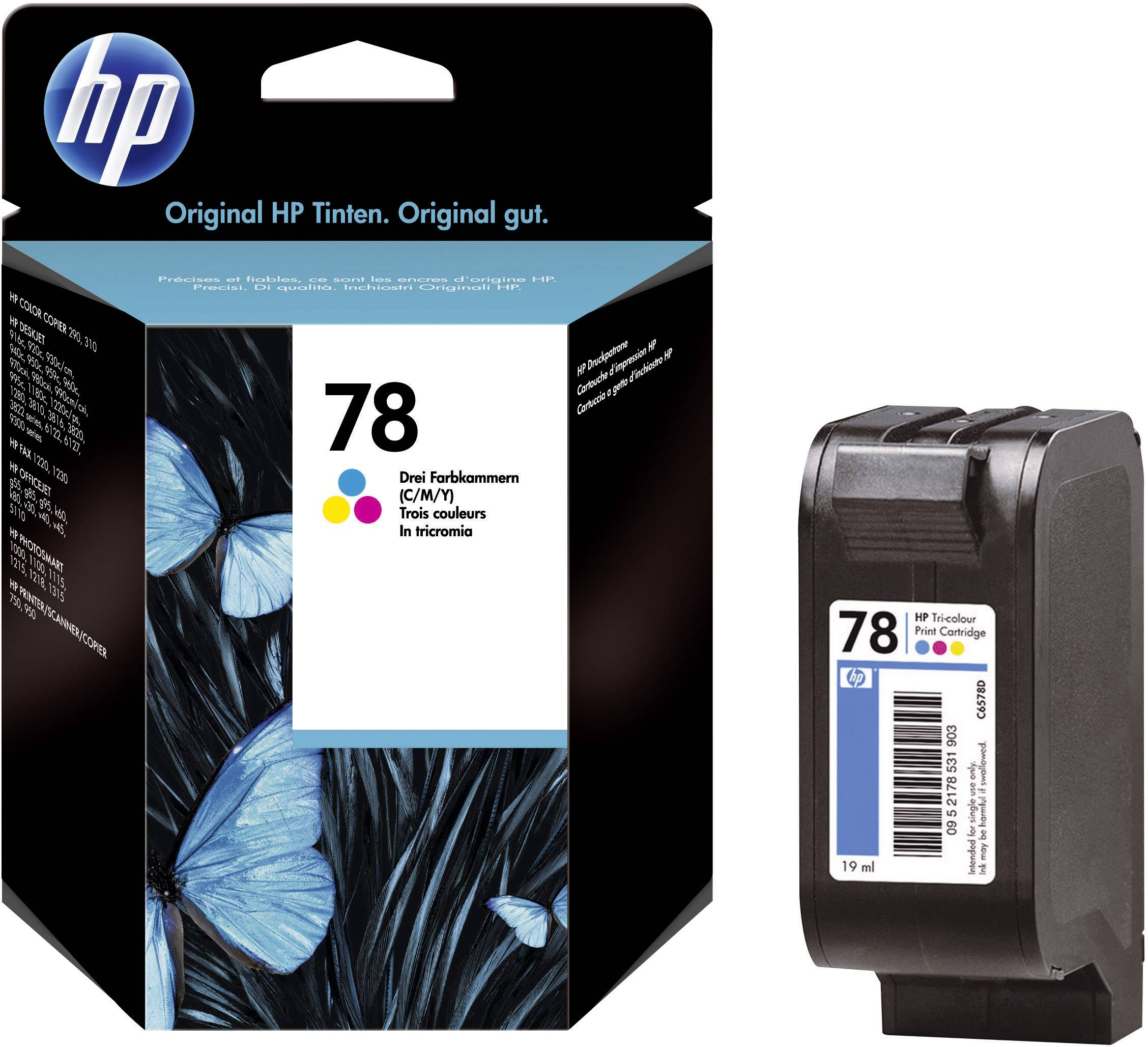 Toner do tiskárny HP C6578D (78) barevná