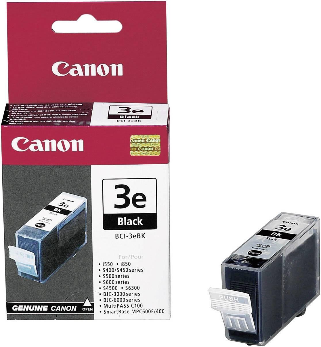 Náplň do tlačiarne Canon BCI-3eBK 4479A002, čierna