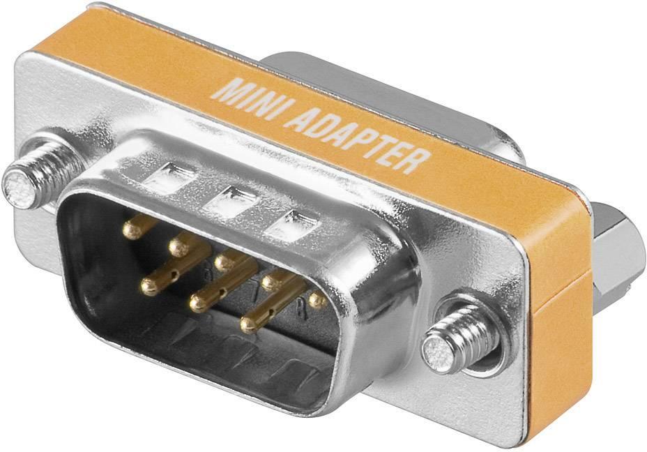 Adaptér D-SUB, 9-pólový, zástrčka/zásuvka