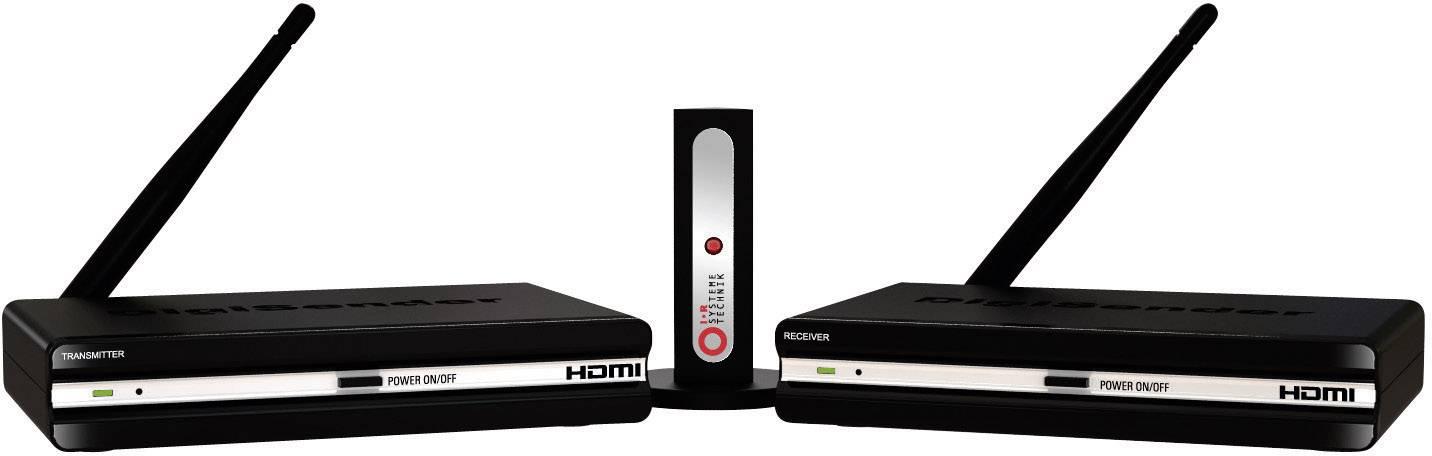 HDMI bezdrátový přenos (sada) AEI DigiSender DGXDSDV112-EU, 40 m