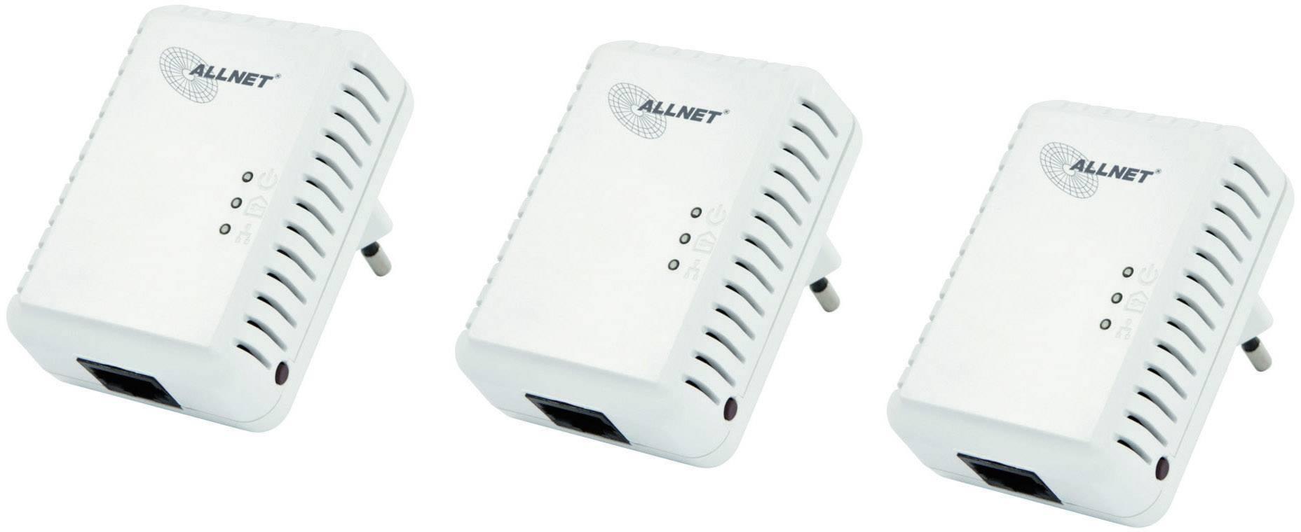 Powerline Network Kit Allnet ALL168250TRIPLE, 500 Mbit/s