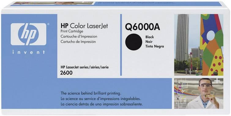 Toner HP 124A Q6000A, čierna