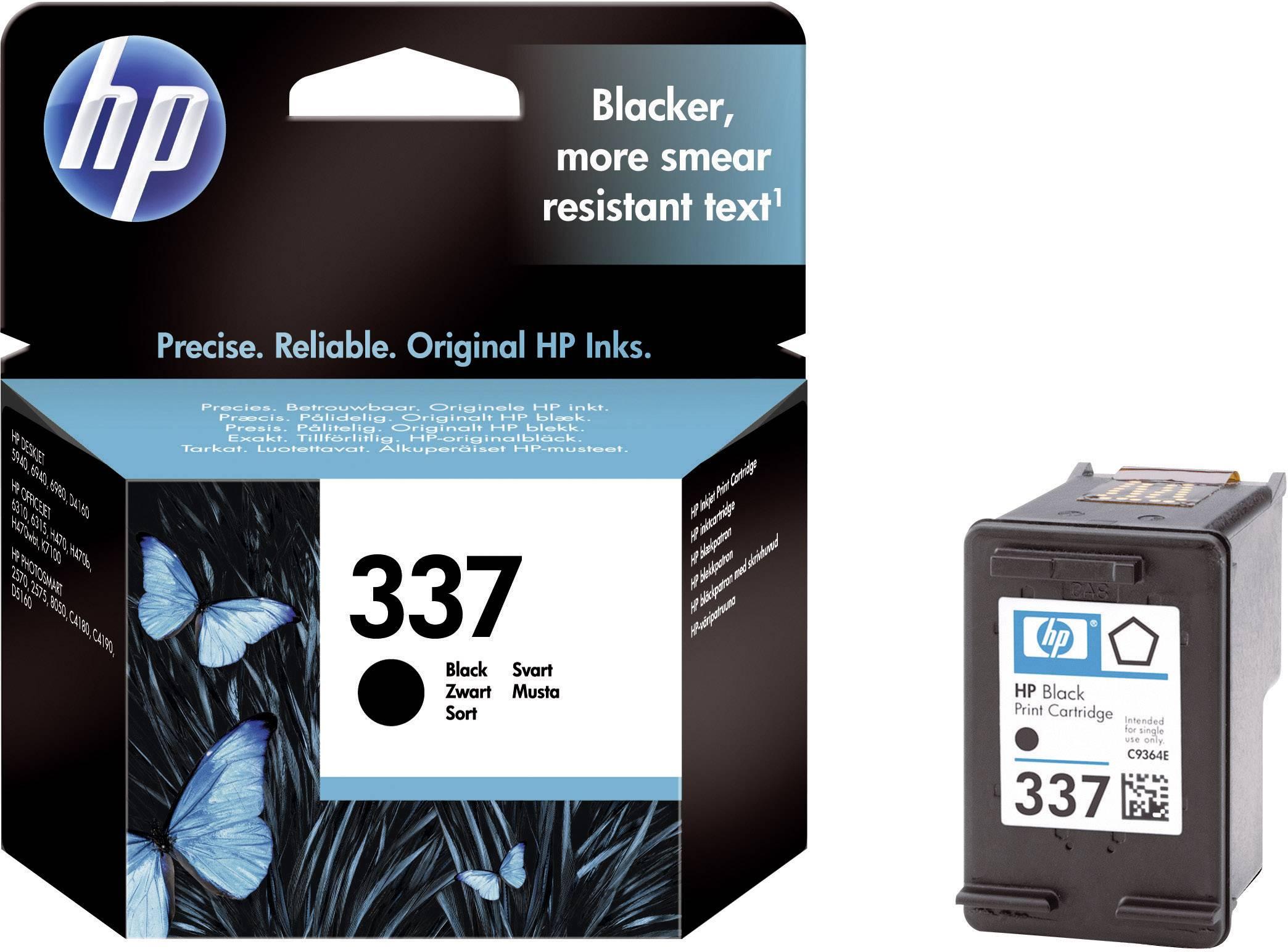 Náplň do tlačiarne HP 337 C9364EE, čierna