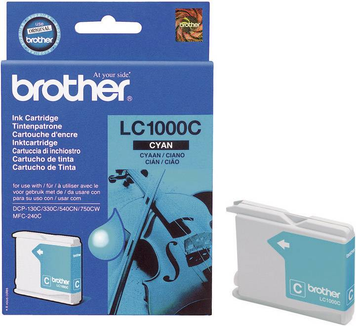 INKOUST BROTHER LC-1000C CYAN MAGENTA