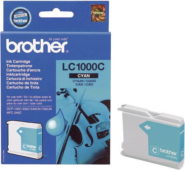 Náplň do tlačiarne Brother LC-1000C LC1000C, zelenomodrá