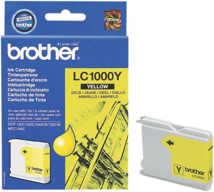 INOUST BROTHER LC-1000Y ŽLUTÝ