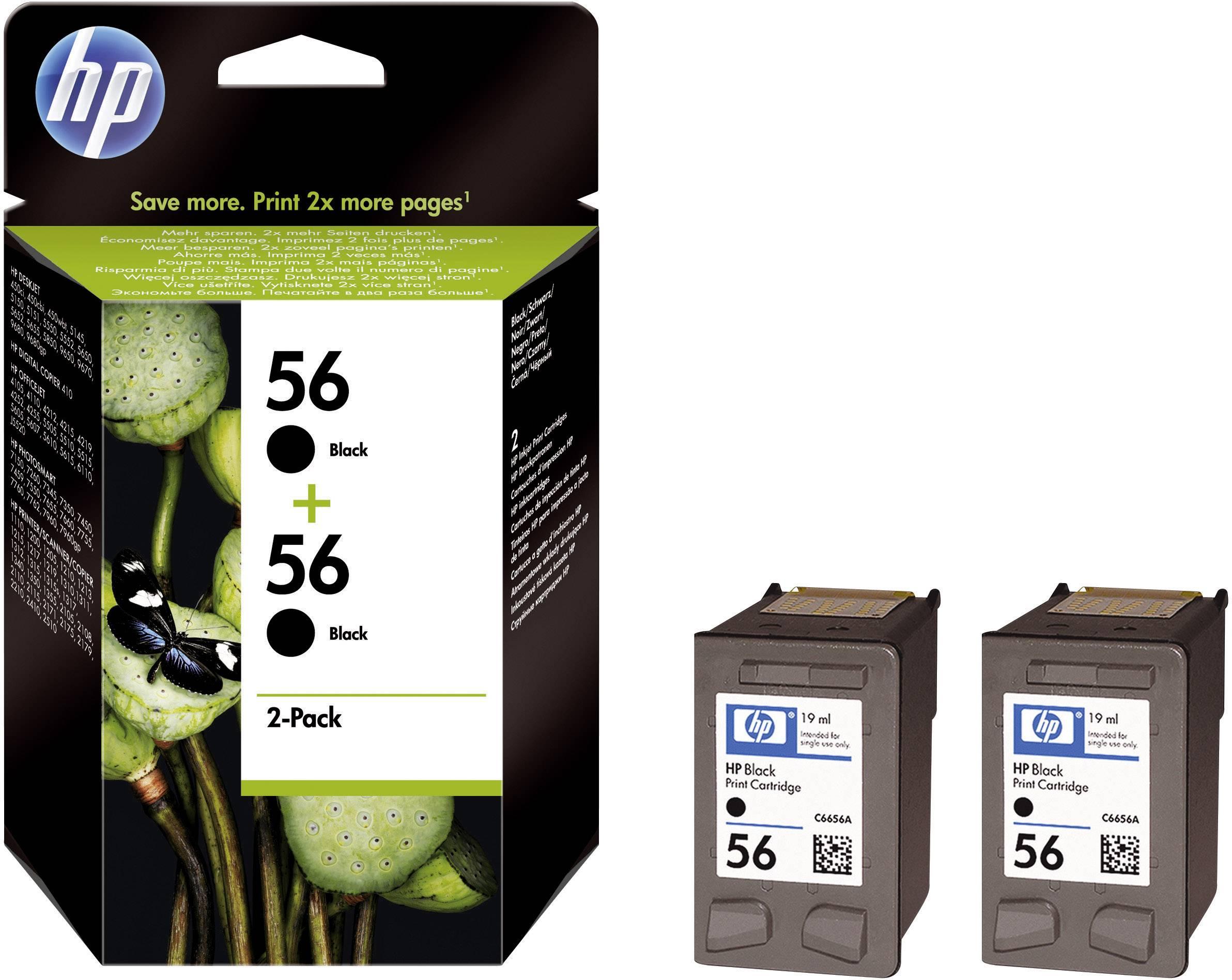Toner do tiskárny HP C9502AE (56) černá 2 ks