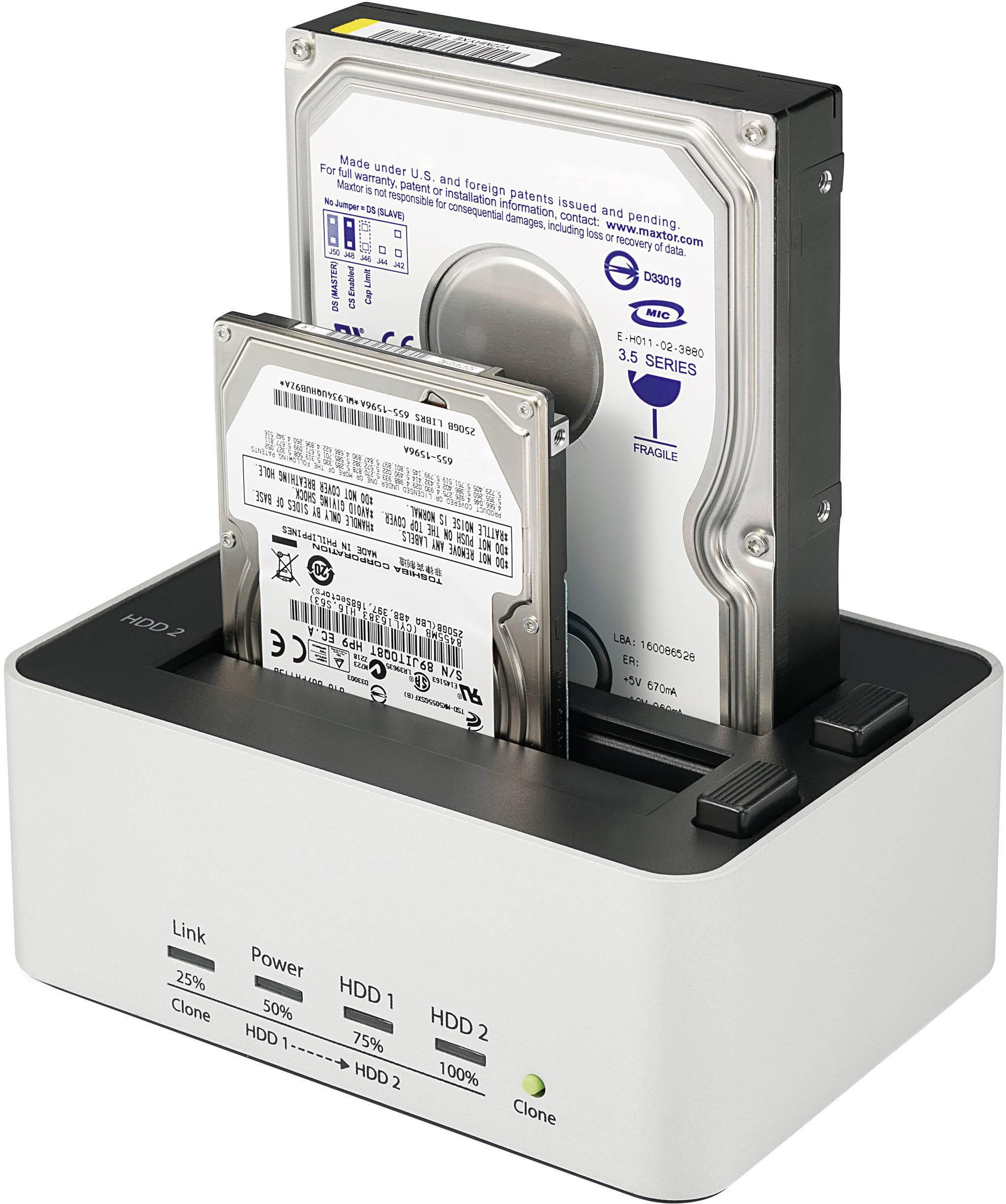 Dokovací stanice pro pevné disky