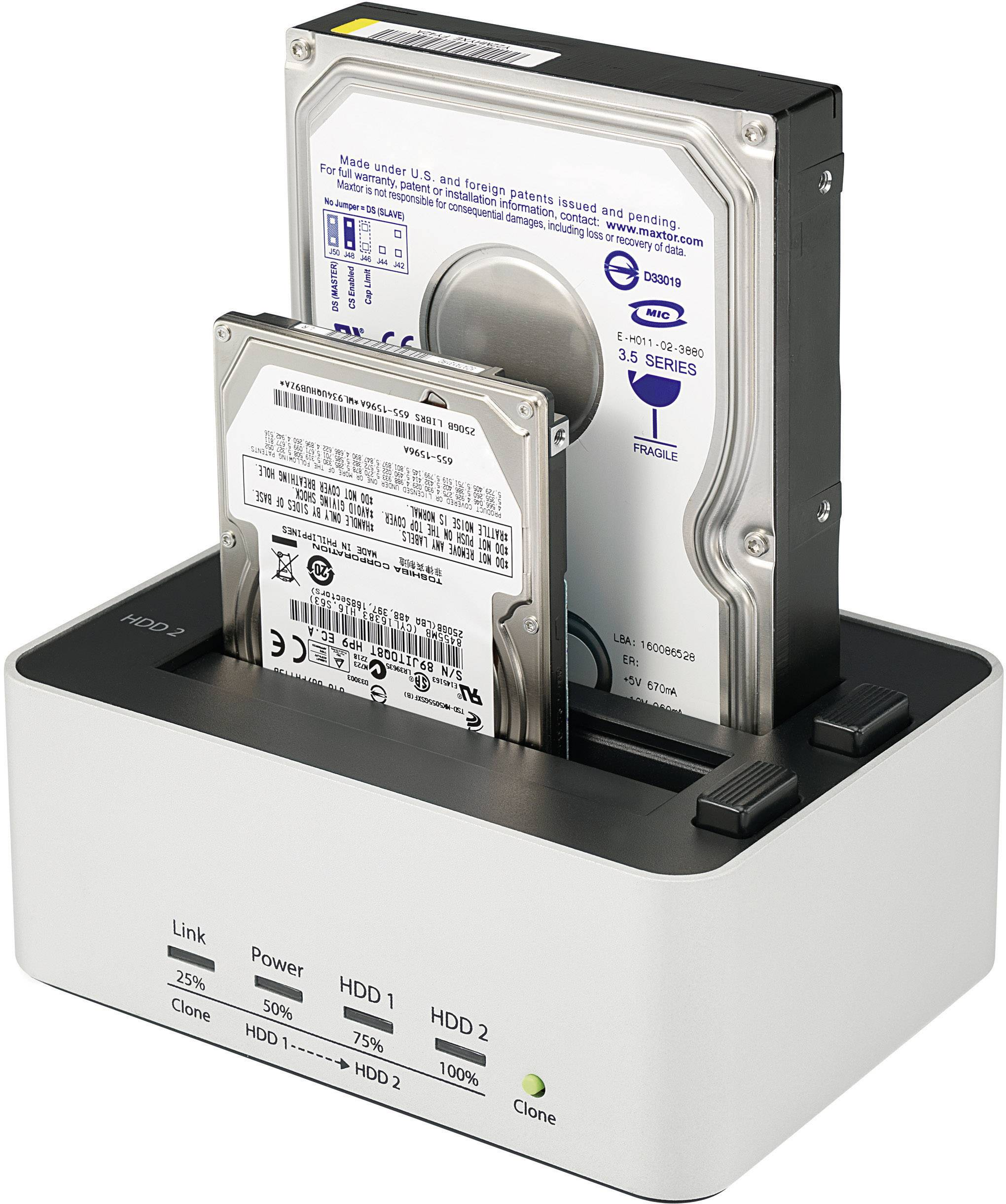 Dokovacia stanica pre pevné disky