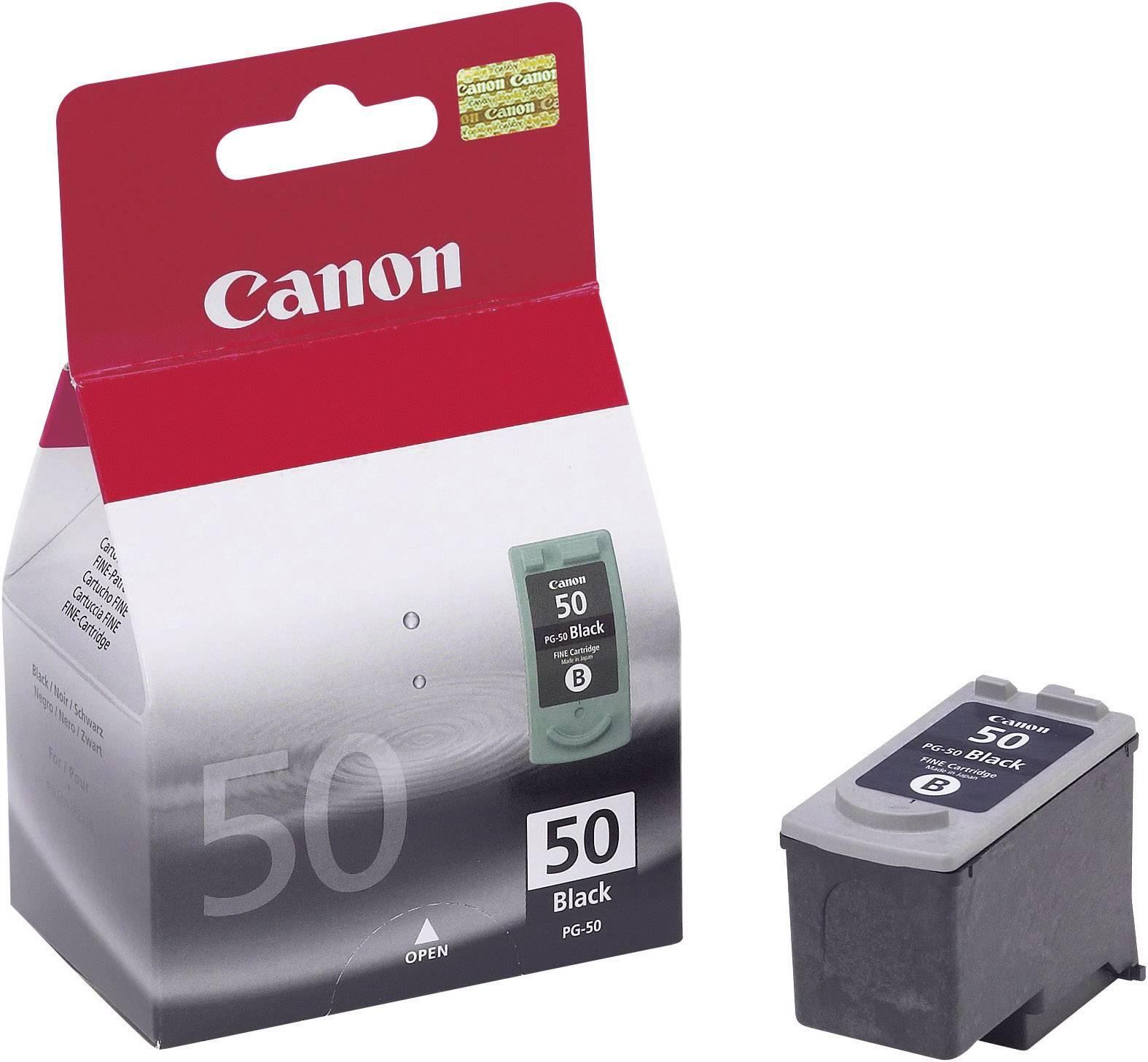 Náplň do tlačiarne Canon PG-50 0616B001, čierna