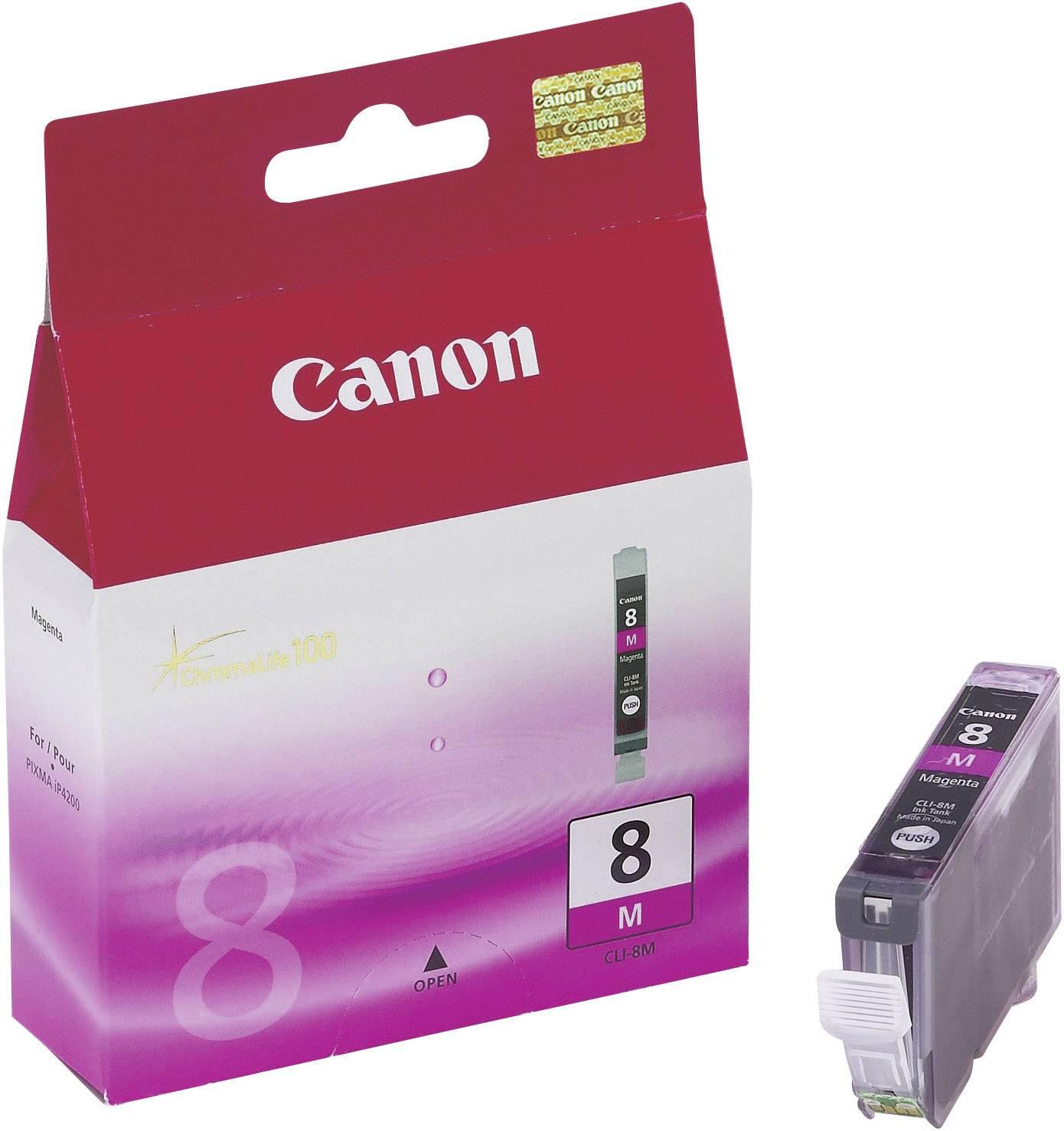 Náplň do tlačiarne Canon CLI-8M 0622B001, purpurová