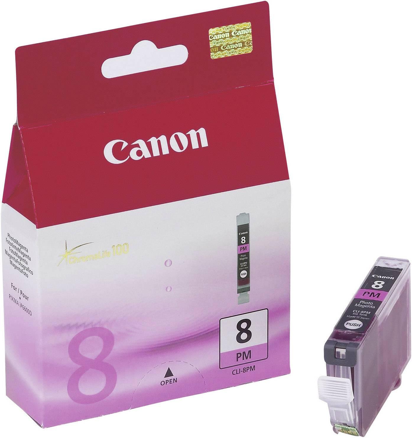 Náplň do tlačiarne Canon CLI-8PM 0625B001, foto purpurová