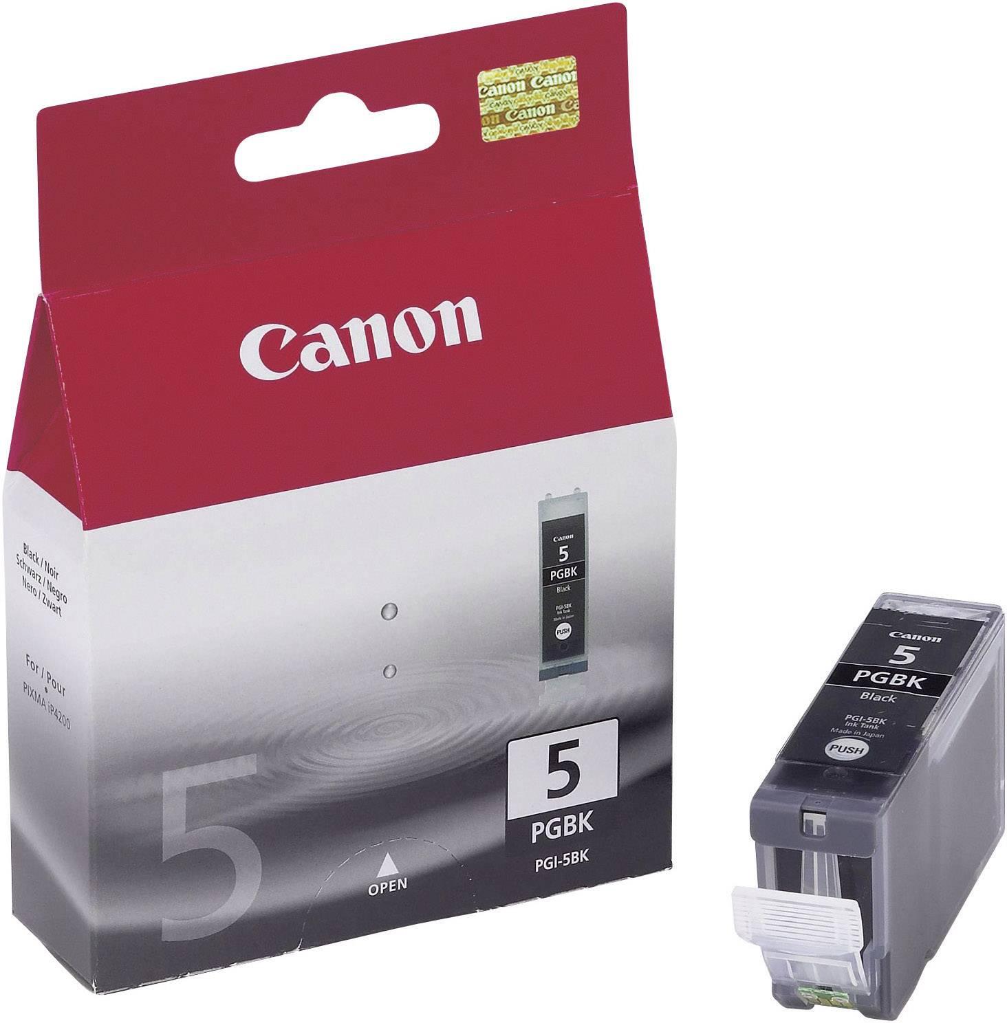 Náplň do tlačiarne Canon PGI-5BK 0628B001, čierna