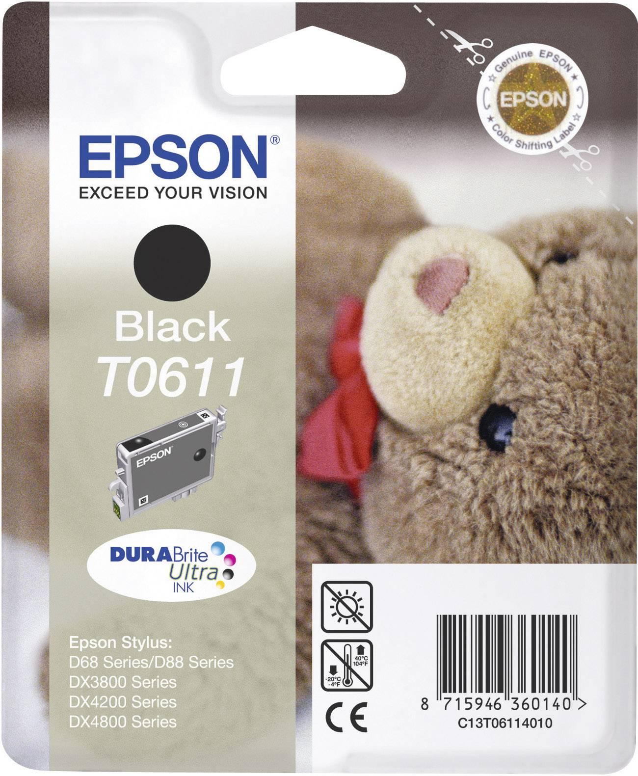 INKOUST EPSON T061140 ČERNÝ