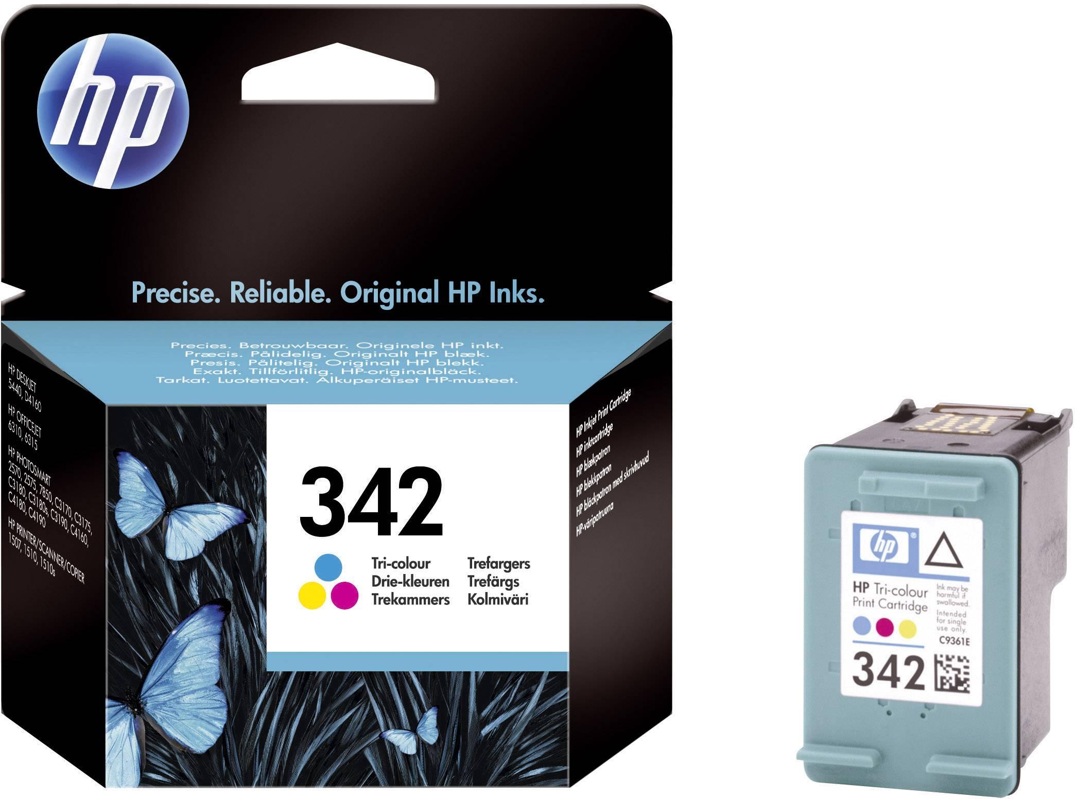 Cartridge do tiskárny HP C9361EE (342), cyanová/magenta/žlutá