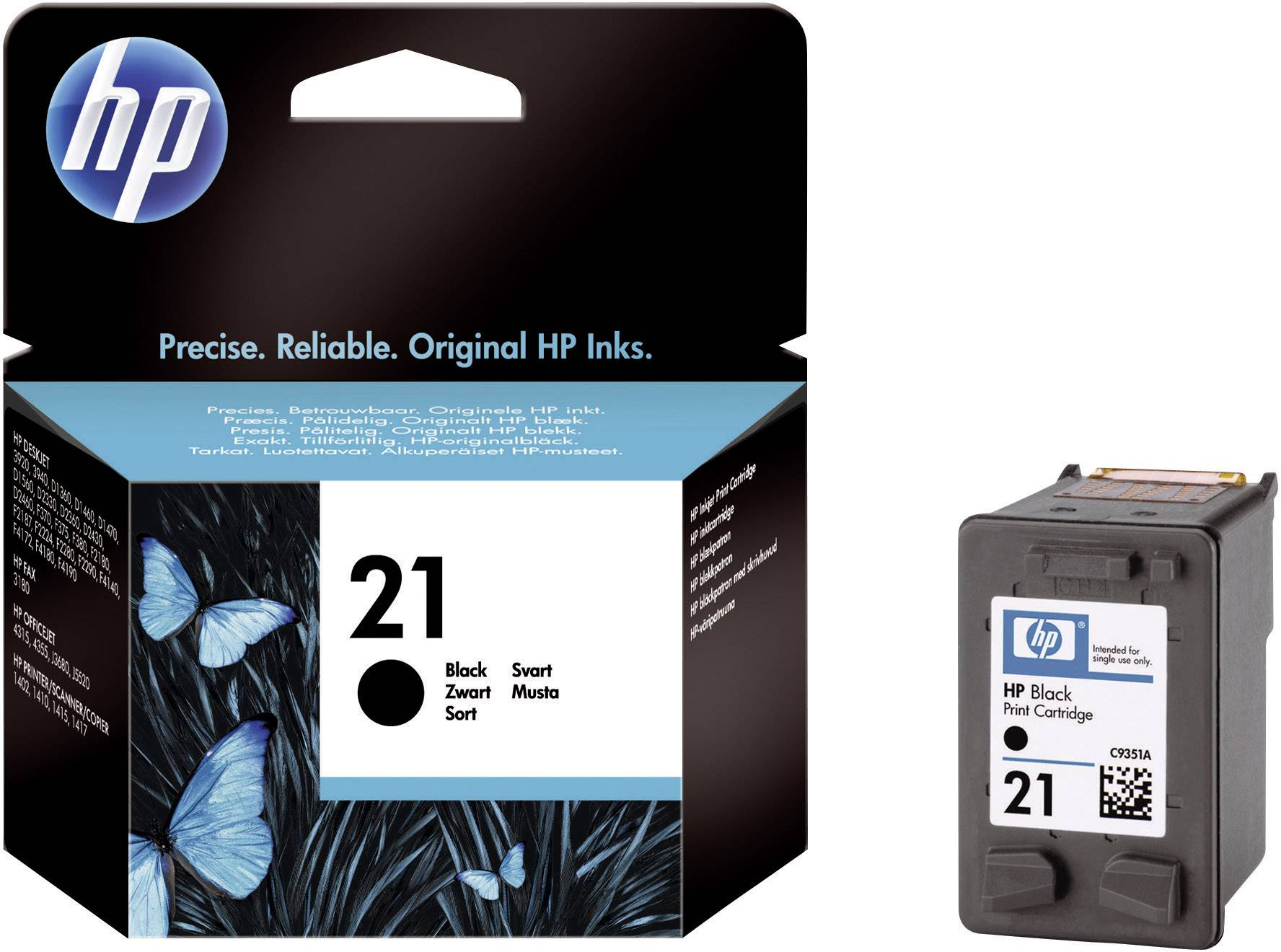 Toner do tiskárny HP C9351AE (21) černá