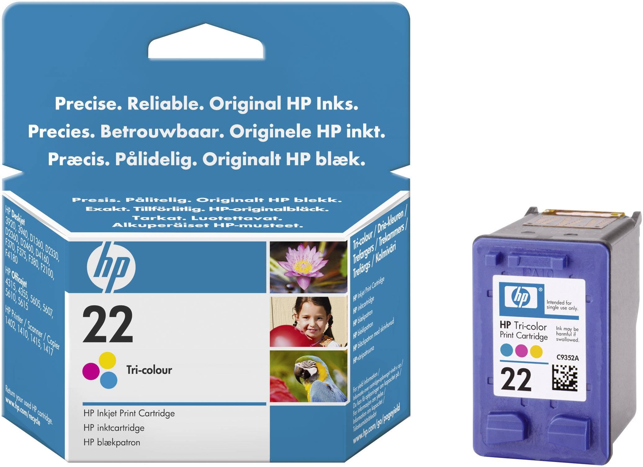 Toner do tiskárny HP C9352AE (22) barevná