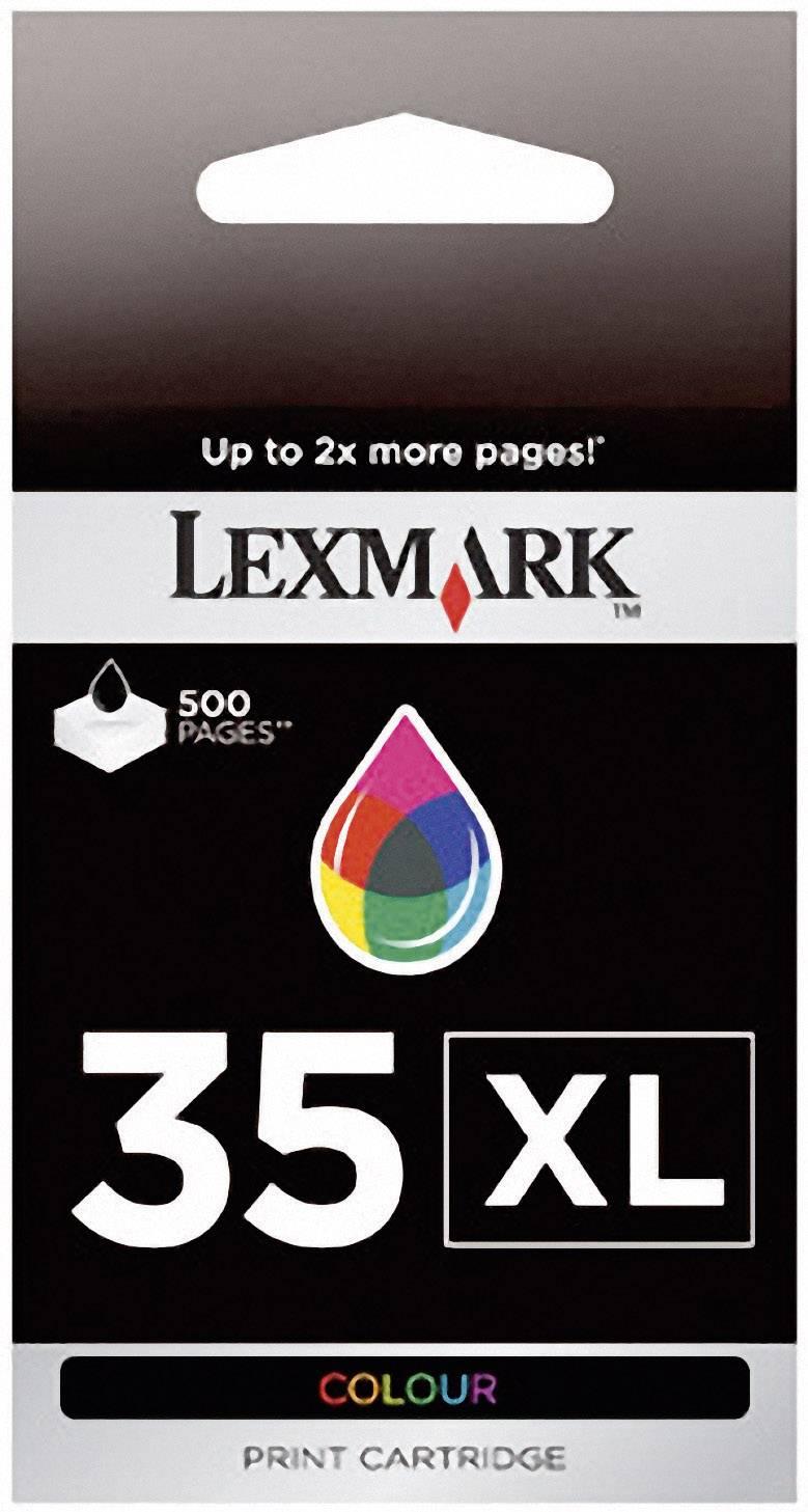 Náplň do tlačiarne Lexmark 35 18C0035, zelenomodrá, purpurová, žltá