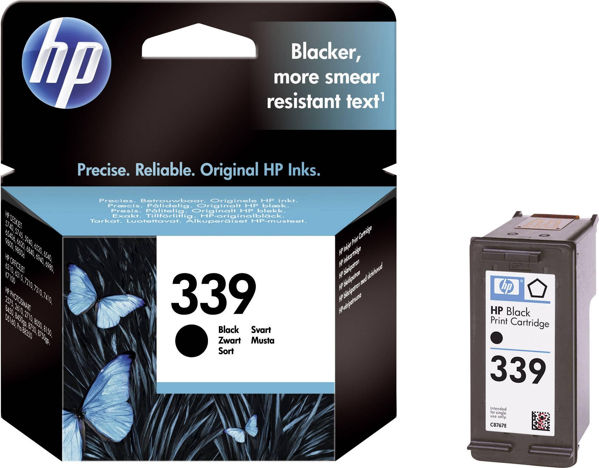 Náplň do tlačiarne HP 339 C8767EE, čierna