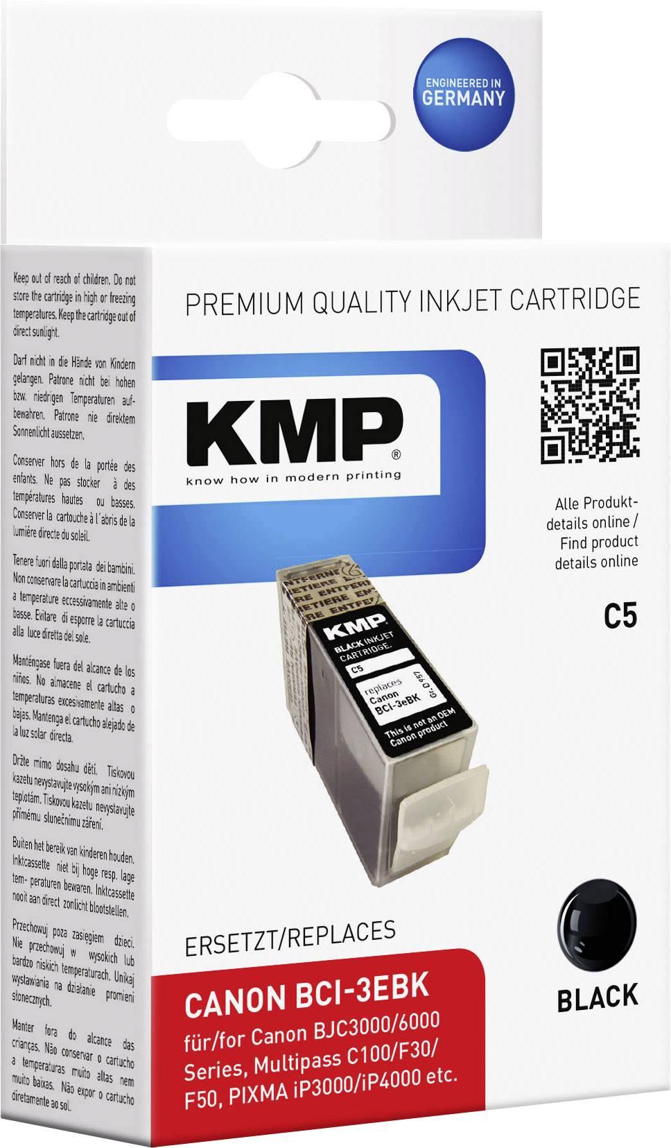 Ink náplň do tlačiarne KMP C5 0957,0001, kompatibilná, čierna