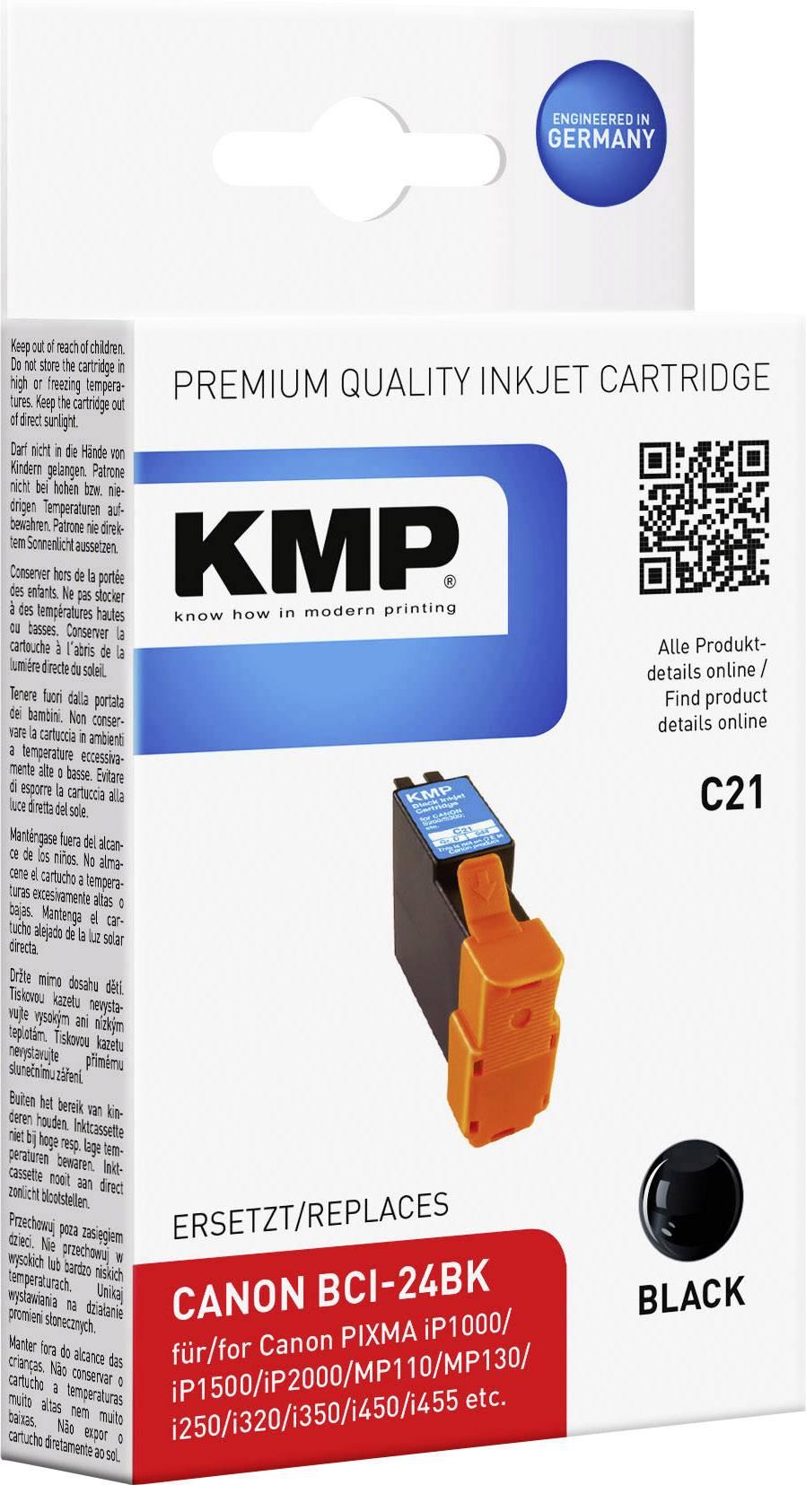 Kompatibilná náplň do tlačiarne KMP BCI24BK 0944,0001, čierna