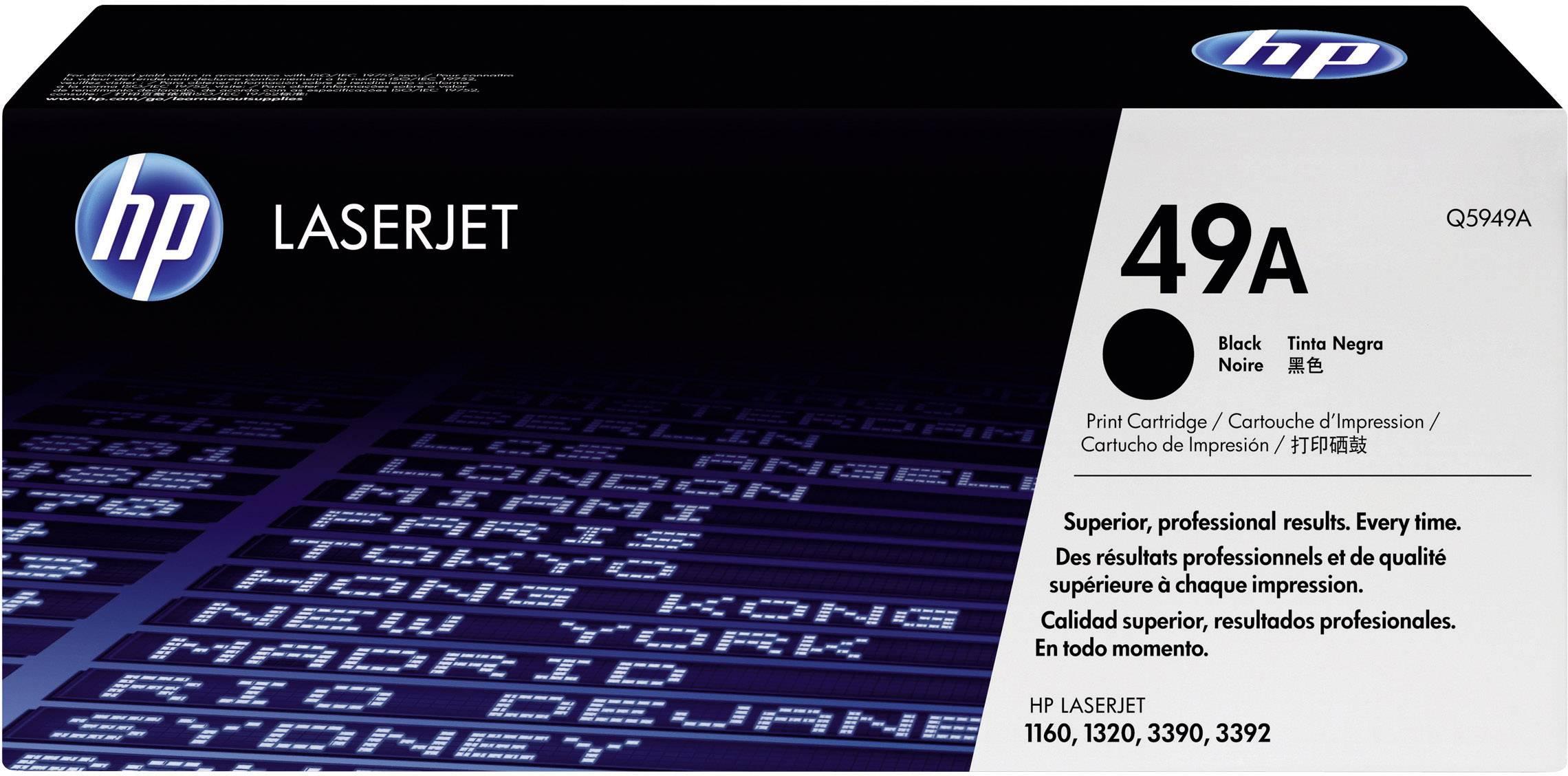 Toner HP 49A Q5949A, čierna