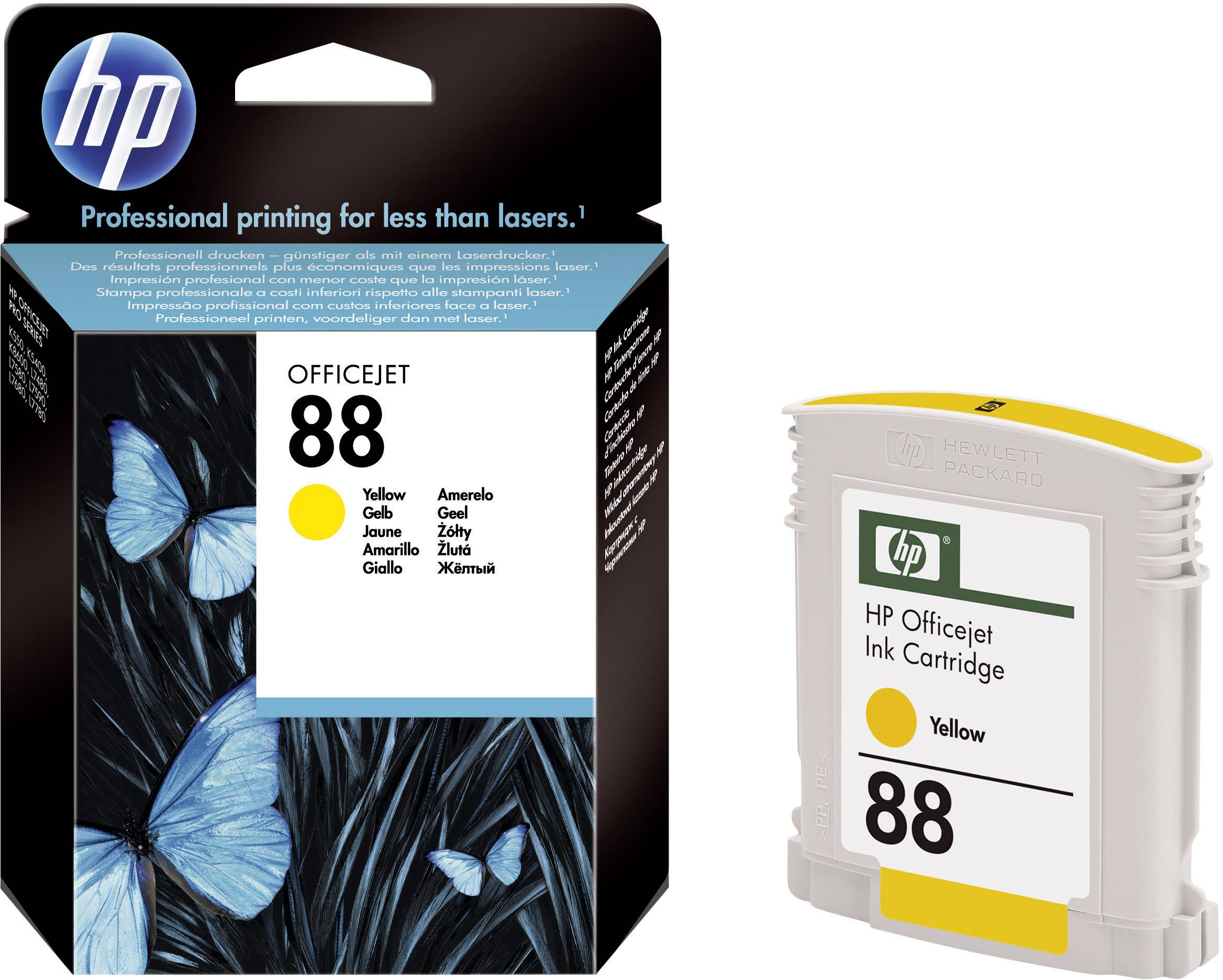 Toner do tiskárny HP C9388AE (88) žlutá