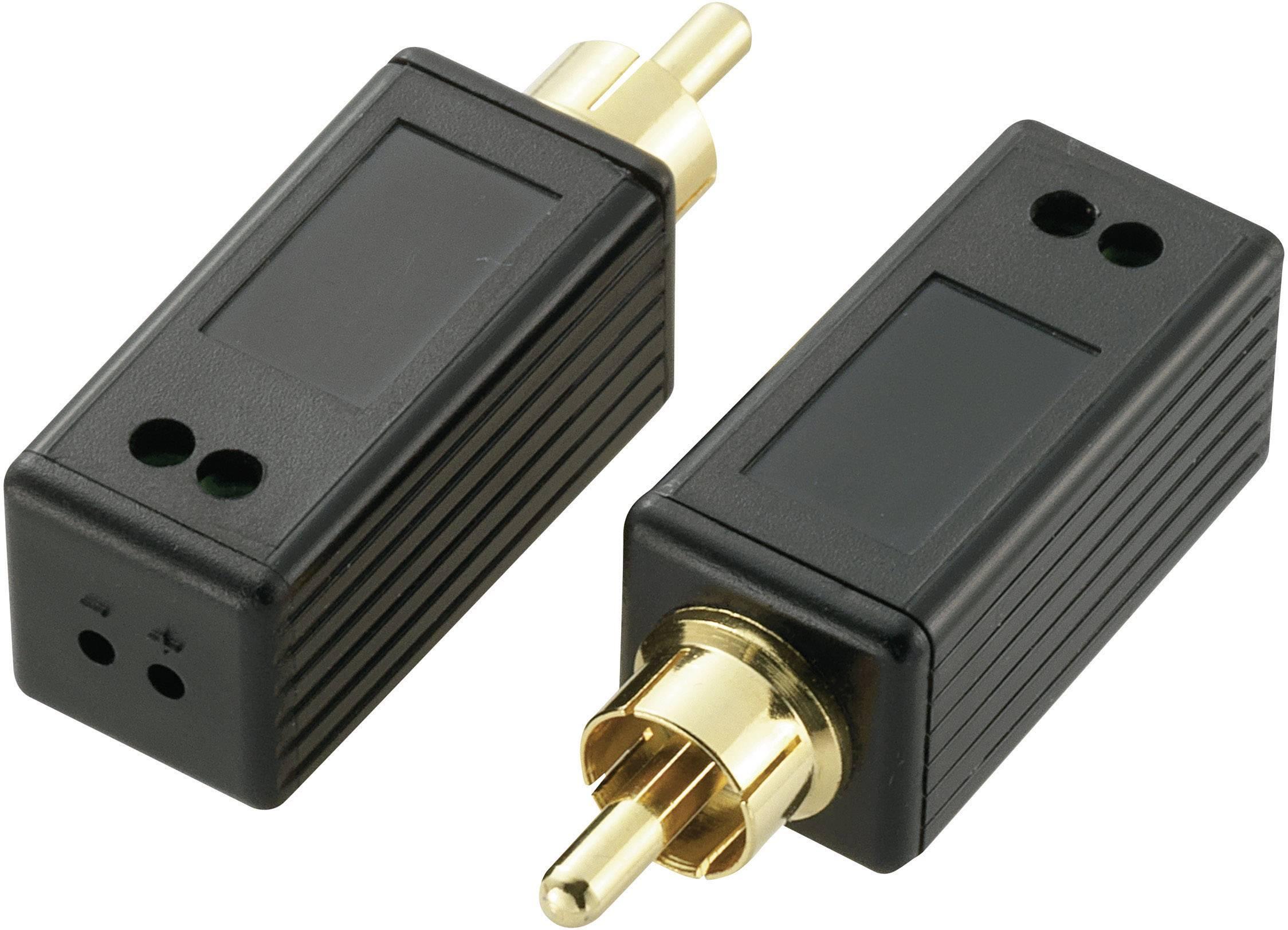 Digitálny audio (koaxiálny) extender (predĺženie) cez dvojicu vodičov, SpeaKa Professional 180 m, N/A