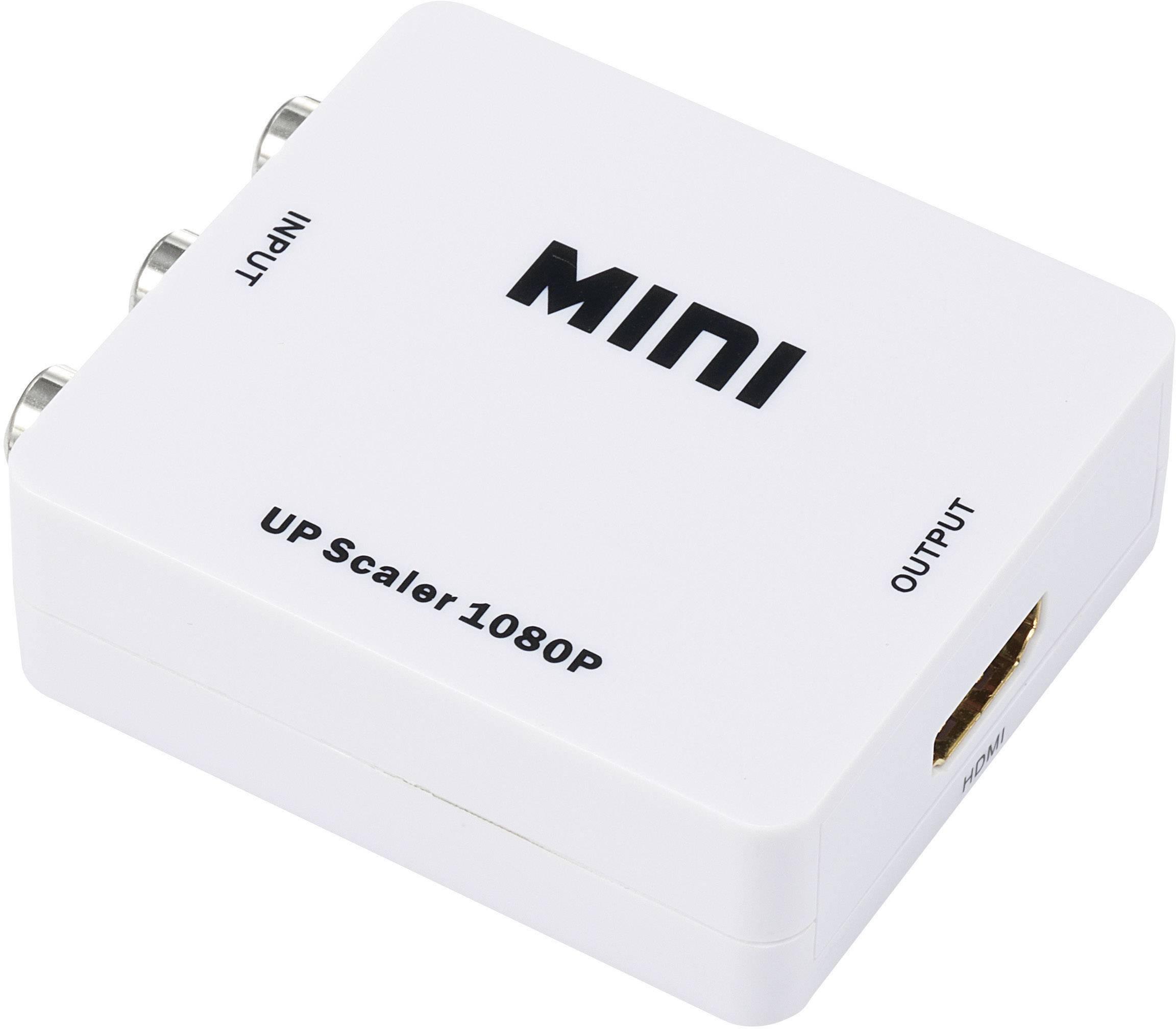 AV konvertor cinch zásuvka ⇒ HDMI zásuvka SpeaKa Professional SP-AV2HDMI SP-3957144