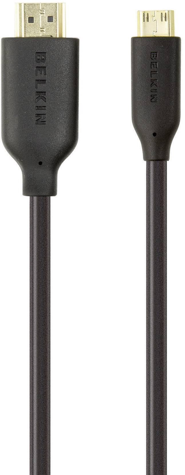 HDMI prepojovací kábel Belkin F3Y027bf1M, 1 m, čierna