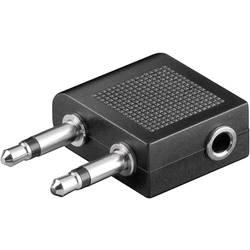 Jack audio Y adaptér SpeaKa Professional SP-7869752, černá