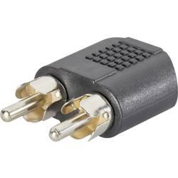 Cinch / jack audio Y adaptér SpeaKa Professional SP-7869756, černá