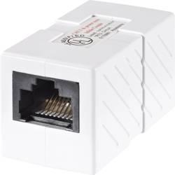 RJ45 sieťový adaptér Belkin R6G050BT CAT 5e, [1x RJ45 zásvuka - 1x RJ45 zásvuka], biela
