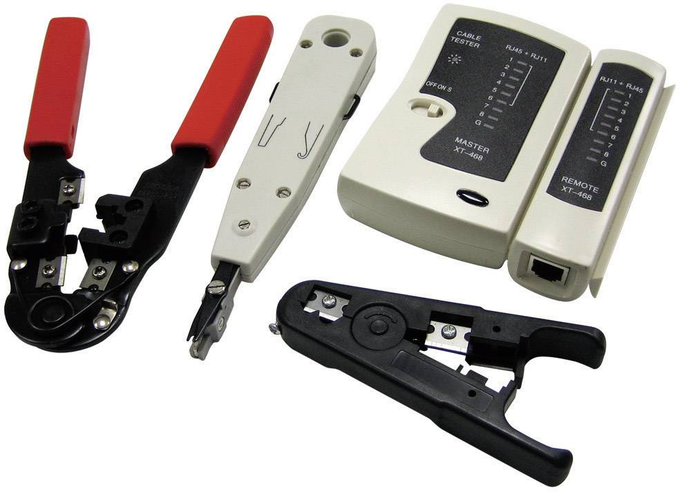 Sada nástrojov pre prácu so sieťou LogiLink WZ0012