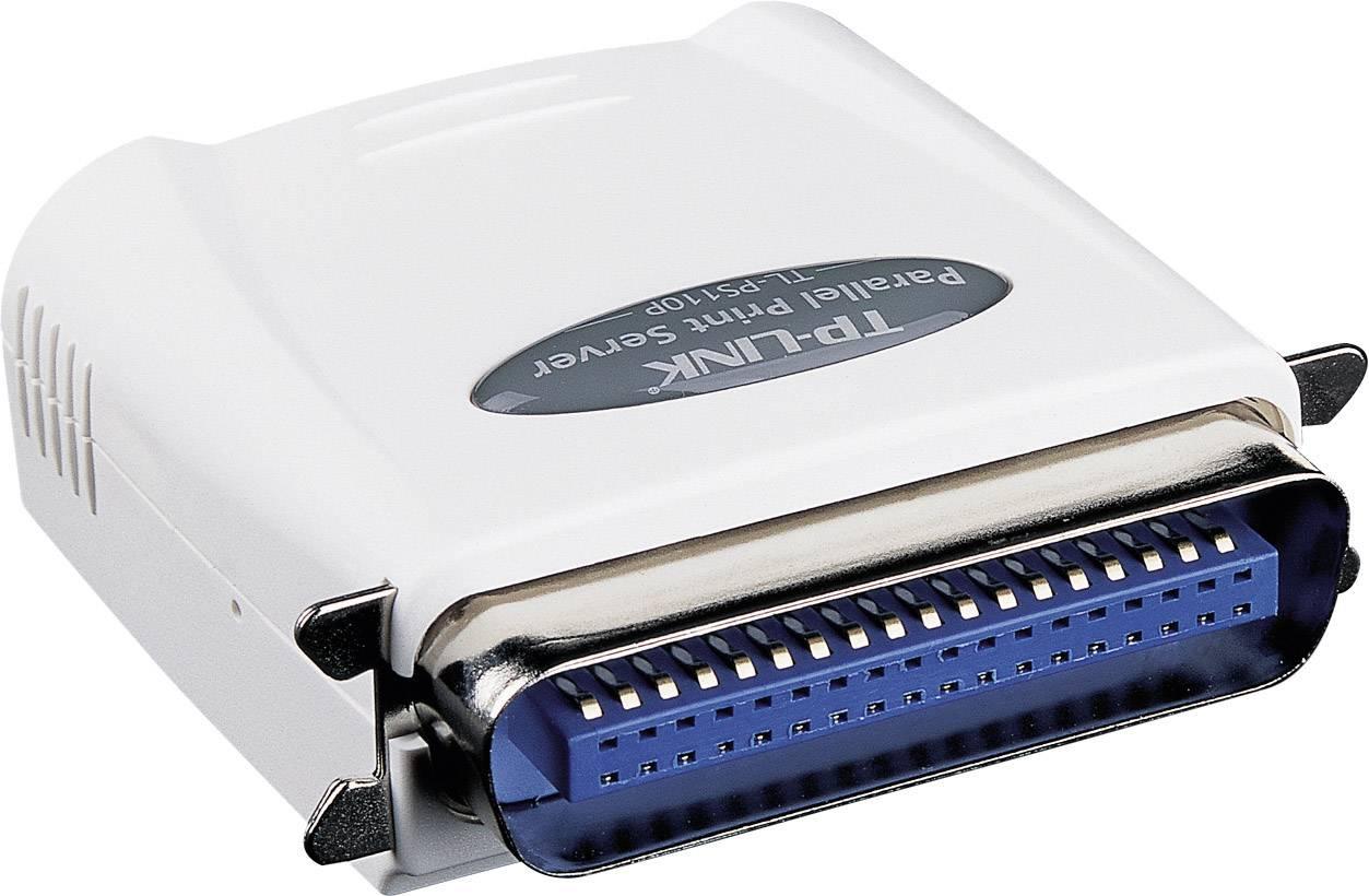 Printserver s paralelním portem a ethernetem TP Link TL-PS110P