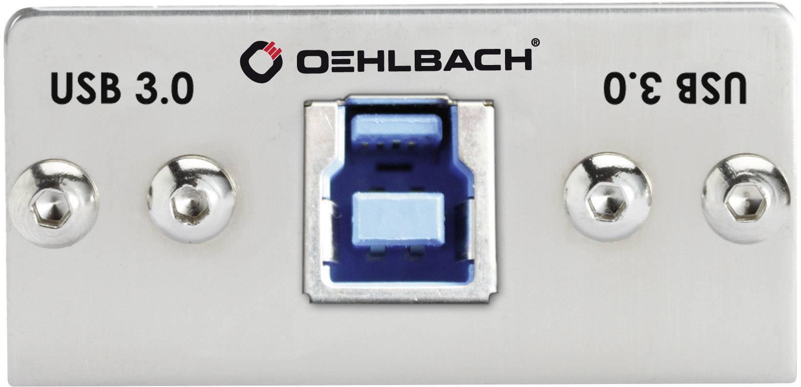 Oehlbach PRE IN konektory s montážnym rámčekom