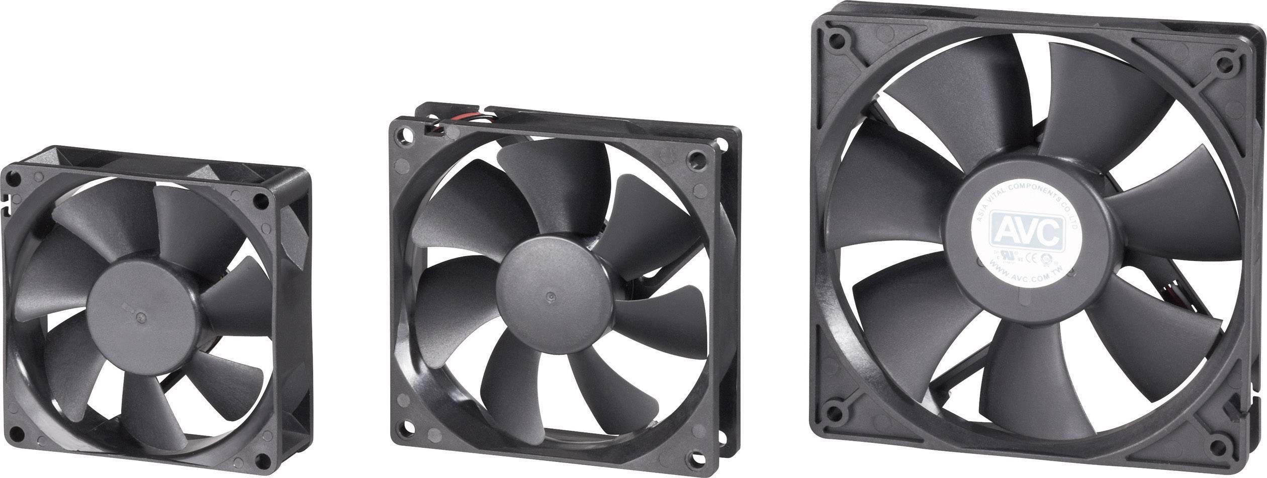 PC ventilátor 70 x 70 x 15 mm