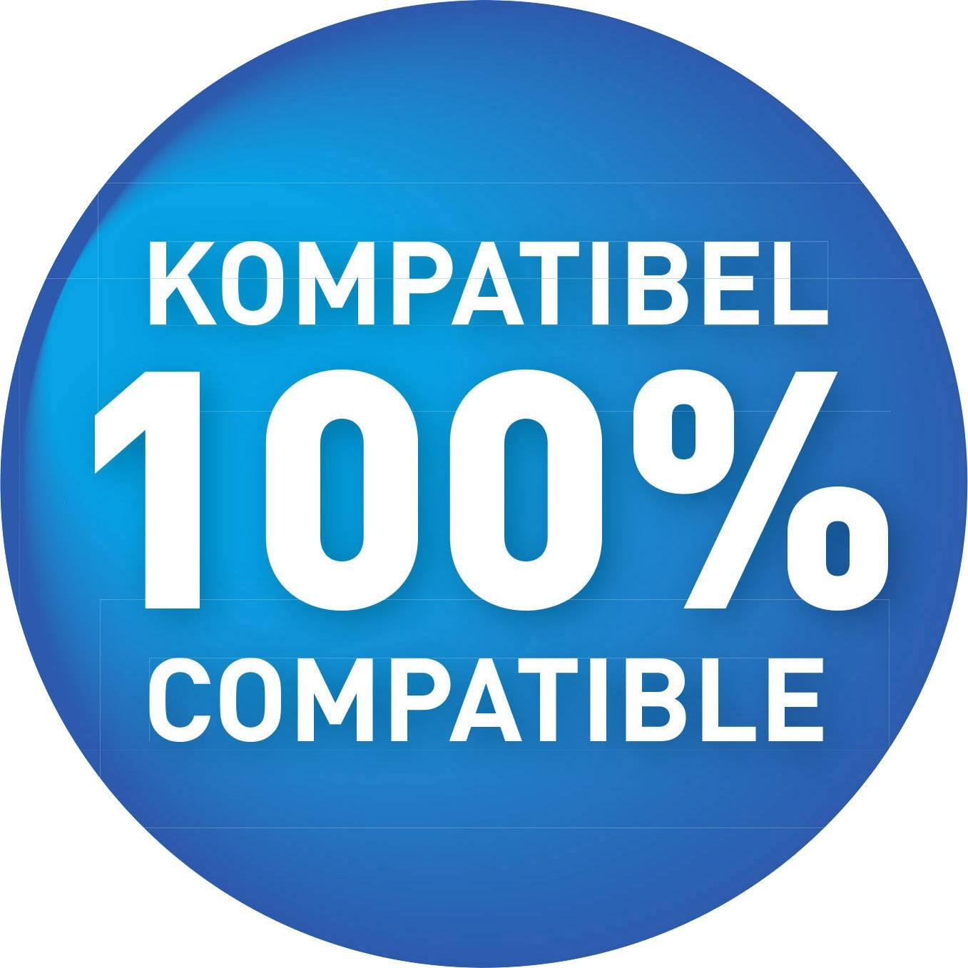 Kompatibilná náplň do tlačiarne KMP H27 1025,4344, zelenomodrá, purpurová, žltá