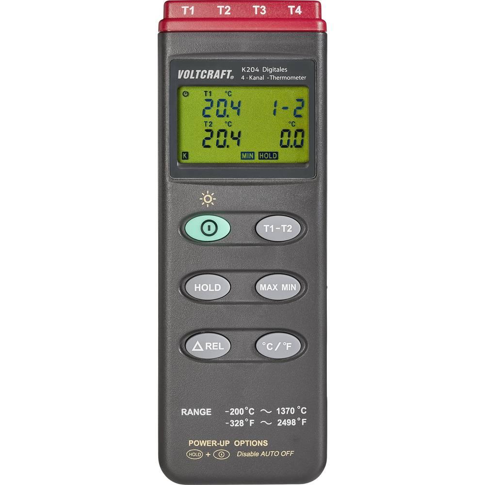 VOLTCRAFT K204 teploměr -200 do +1370 °C typ senzoru K