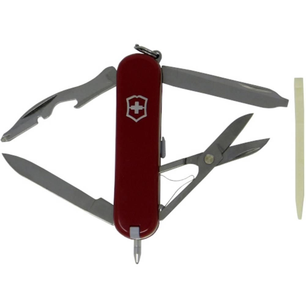Victorinox Manager 0.6365 švýcarský kapesní nožík počet funkcí 10 červená