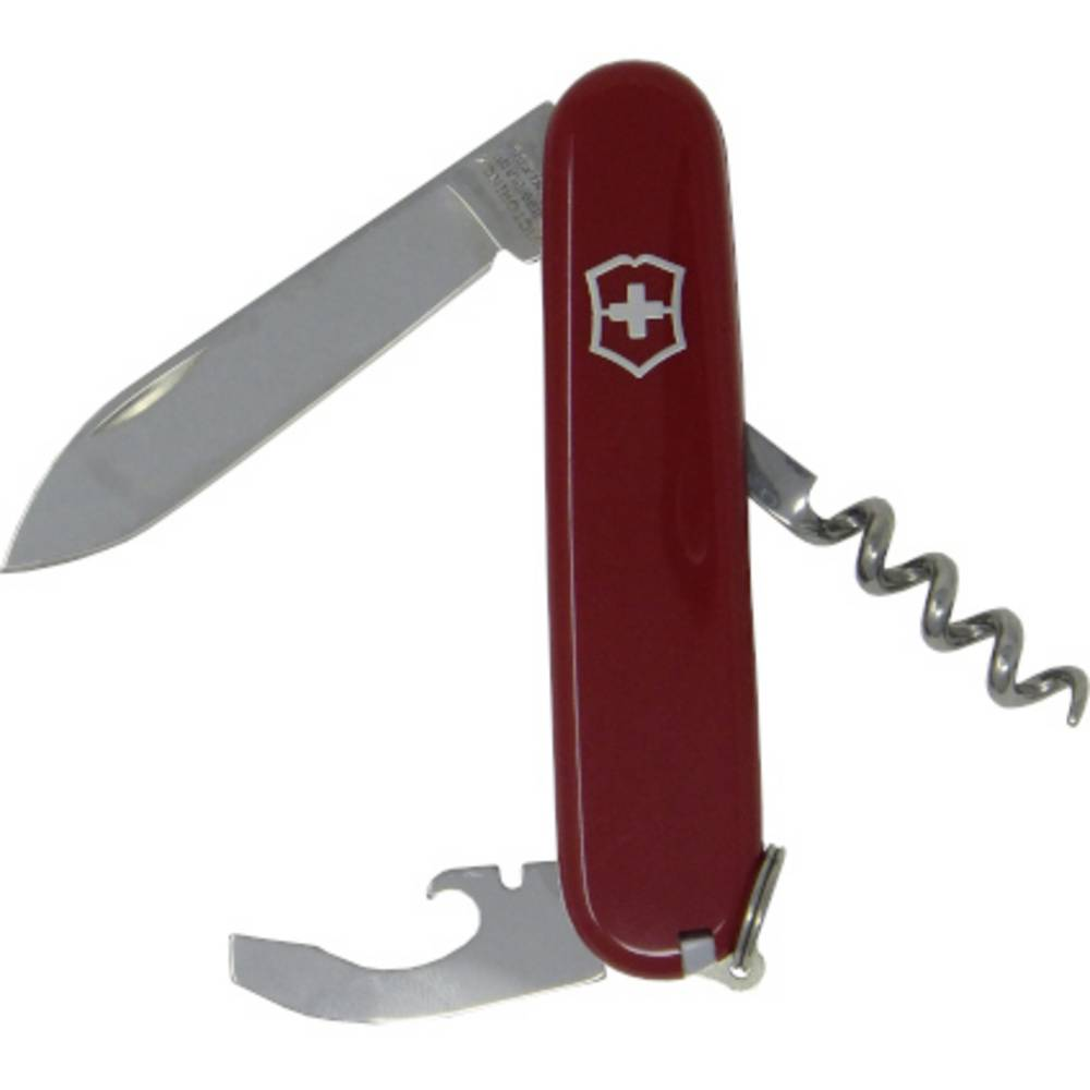 Victorinox Waiter 0.3303 švýcarský kapesní nožík počet funkcí 9 červená