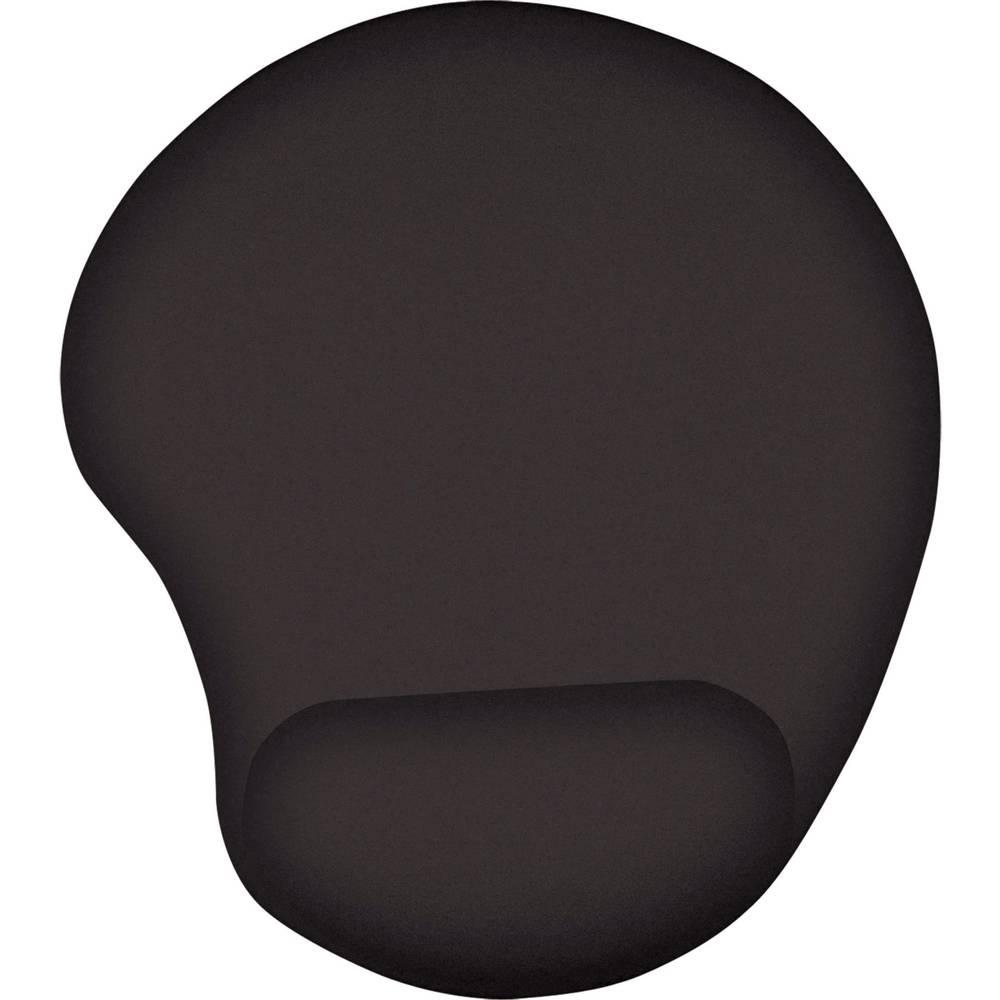 Trust Bigfoot Gel podložka pod myš s opěrkou pod zápěstí ergonomická černá (š x v x h) 210 x 23 x 245 mm
