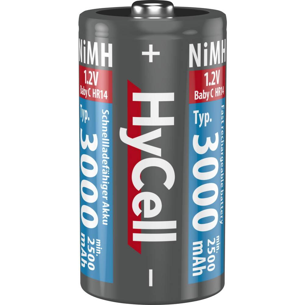 HyCell HR20 akumulátor velké mono D Ni-MH 3000 mAh 1.2 V 2 ks