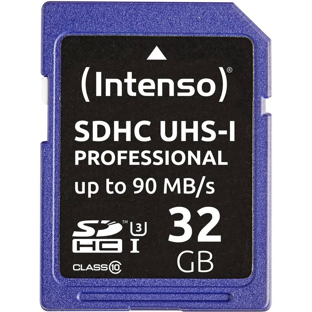 Intenso Professional karta SDHC 32 GB Class 10, UHS-I