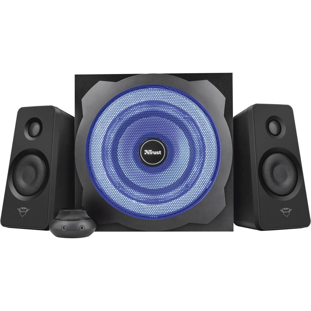 Trust GXT 628 2.1 Tytan LED 2.1 PC reproduktory kabelový 120 W černá, modrá
