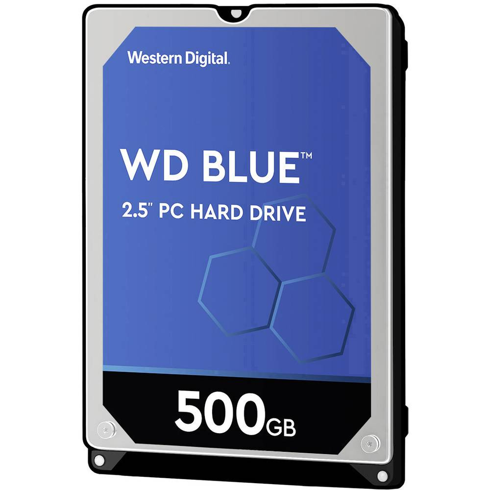 "Western Digital Blue™ Mobile 500 GB interní pevný disk 6,35 cm (2,5"") SATA III WD5000LPCX Bulk"