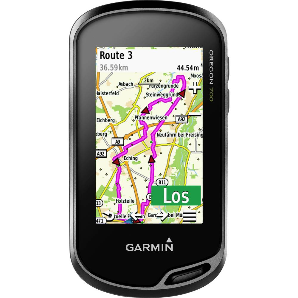 Garmin Oregon 700 outdoorová navigace geocaching, turistika, kolo chráněné proti stříkající vodě, Bluetooth® , GLONASS , GPS