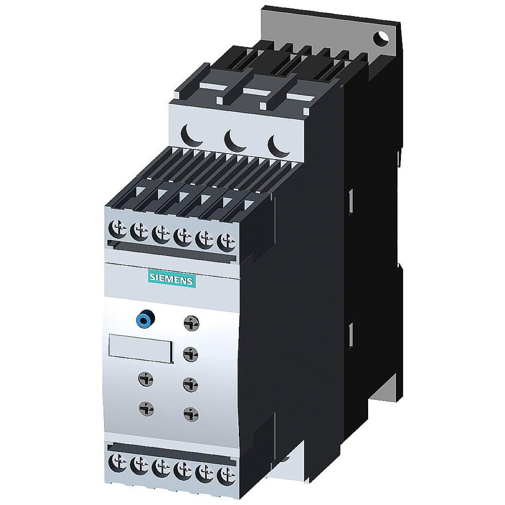 Siemens 3RW4024-1TB05 3RW40241TB05 soft startér Výkon motoru při 400 V 5.5 kW 600 V Jmenovitý proud 12.5 A