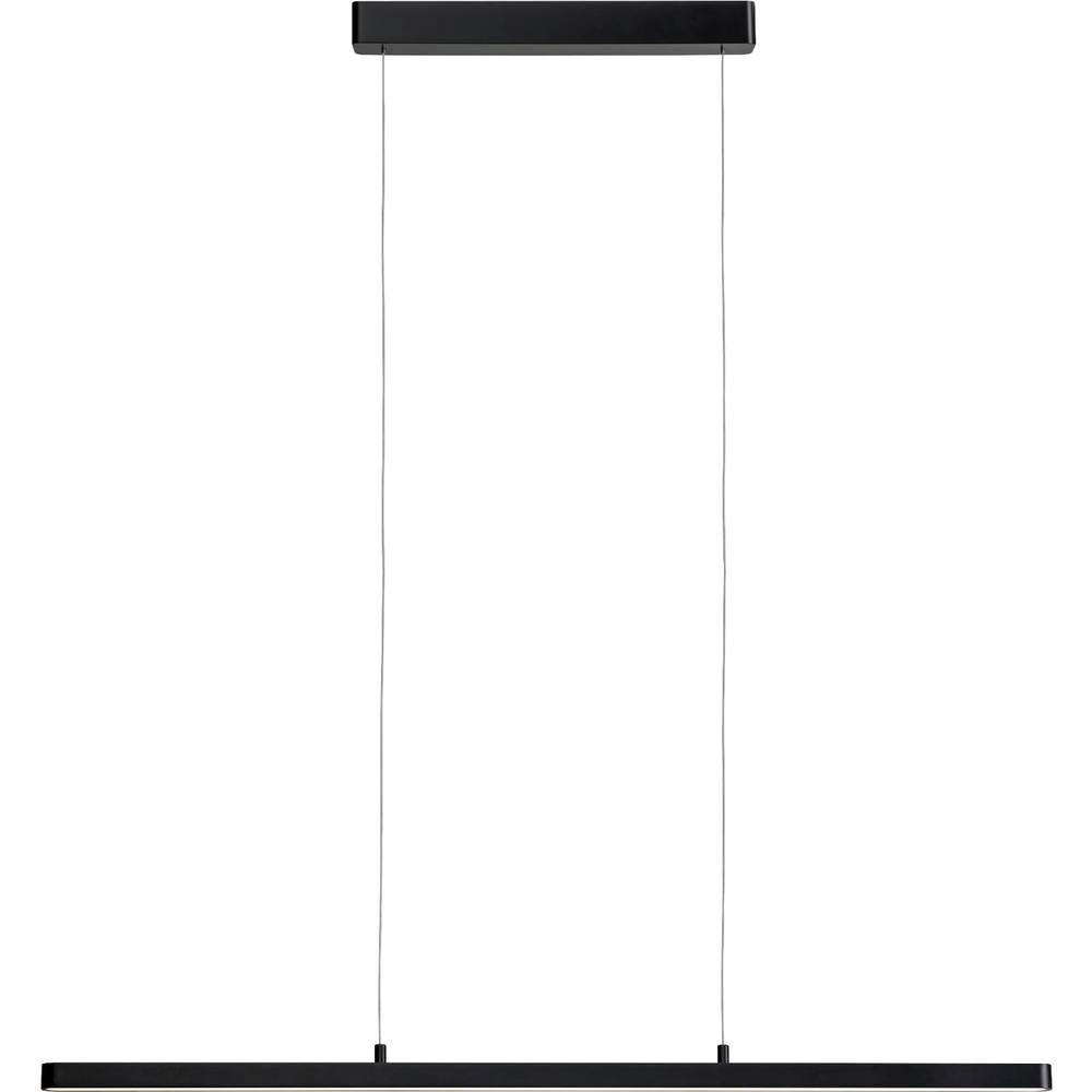 79694 Lento Paulmann Home LED závěsná lampa pevně vestavěné LED 43 W teplá bílá, neutrální bílá, denní bílá černá (lesklá)